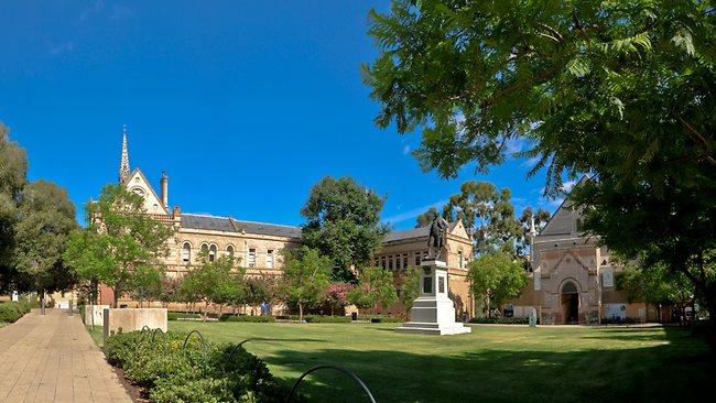 Adelaide Uni Grounds